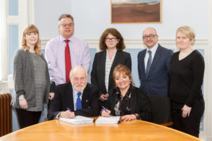 DGHP and SERS Contract Signing